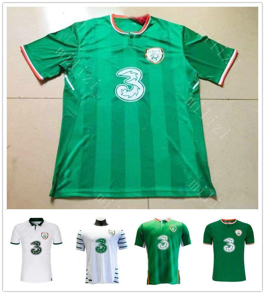 2018 Copa Mundial De Irlanda Jersey De Futbol Keane Daryl Blank ...