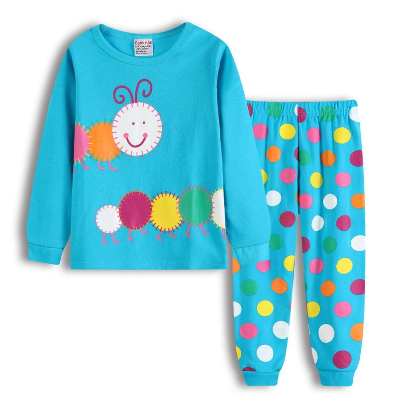 0bf51231f987 New Kids Pajamas Cartoon Pijamas Children S Sleepwear Long Sleeve Cotton  Nightgown Pajamas For Boys Clothes Halloween Costume H0 Girls Pajamas Sale  Little ...
