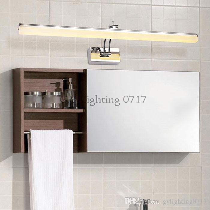 LED Wandlampen Badezimmer führte Kabinettlicht wasserdichtes L39cm L49cm  L59cm L69cm moderne Wandlampe Badezimmer-Beleuchtungsspiegelbefestigung