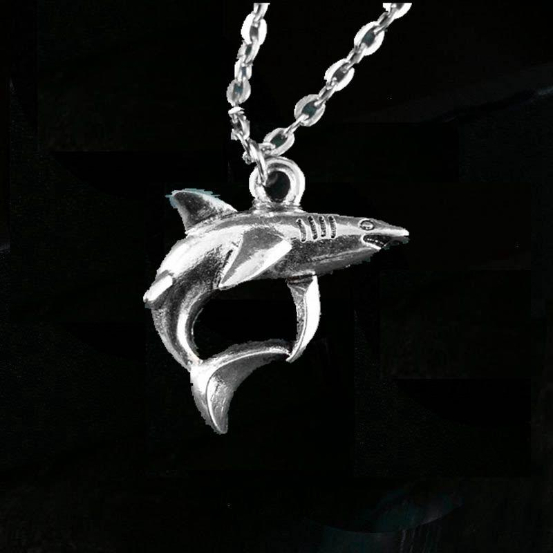 Wholesale shark necklace pendant silver shark charm necklace white wholesale shark necklace pendant silver shark charm necklace white gold necklace diamond pendant necklace from diyshop2012 1277 dhgate aloadofball Gallery