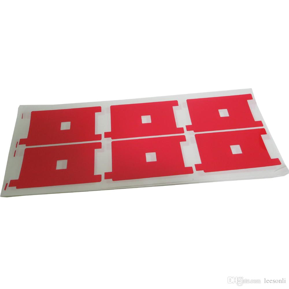 Red Color LCD Backlight Protector Film for iPhone 5G 5S 5C Display Screen Refurbishment
