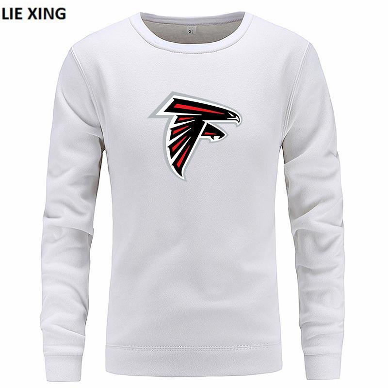 Fashion Men Sweatshirts Hot 2018 New ATLANTA Falcons Print Harajuku  supplier