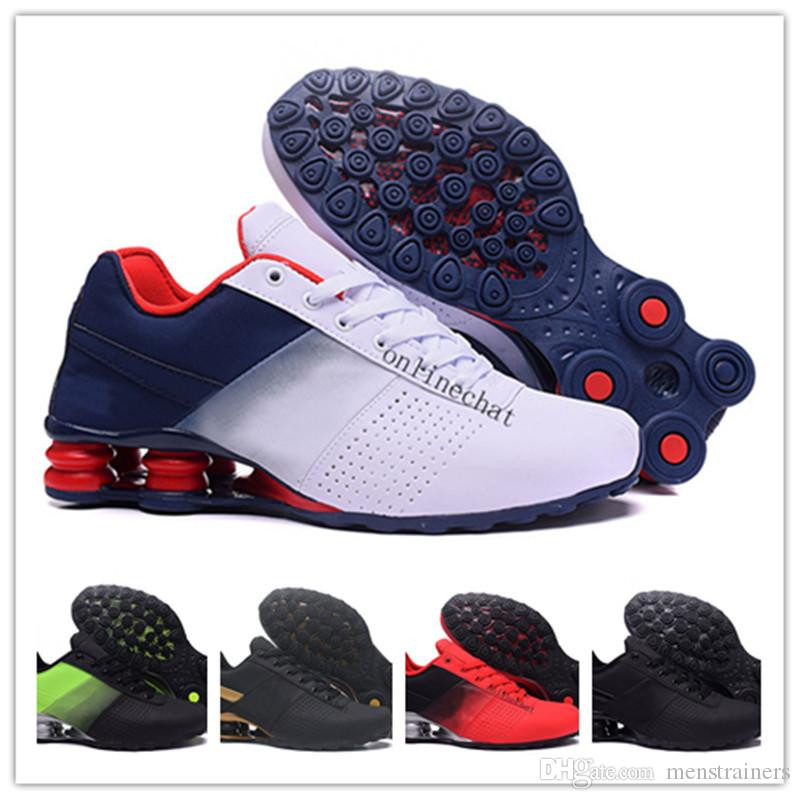 New Shox Men Runnig Shoes 2018 Mens Deliver Nz Breathable Sneakers ... 508411d86