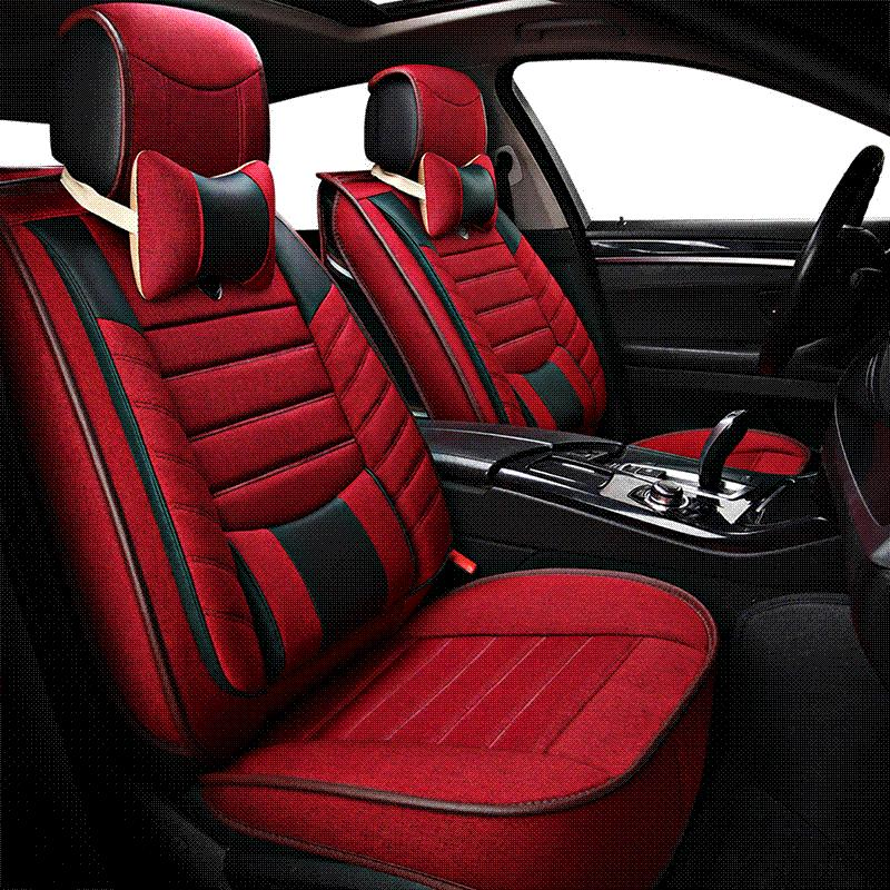 Car Travel Universal Seat Cover Seats Covers Leather For Ford Limited Mondeo Mk3 Mk4 Mustang Ranger Territory 2017 2015 Sets