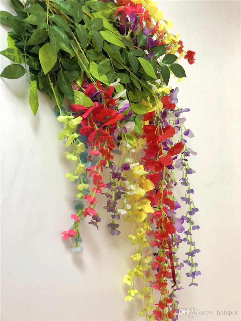 43 30 Inch Artificial Ivy Flowers Hydrangea Wedding Decoration Silk