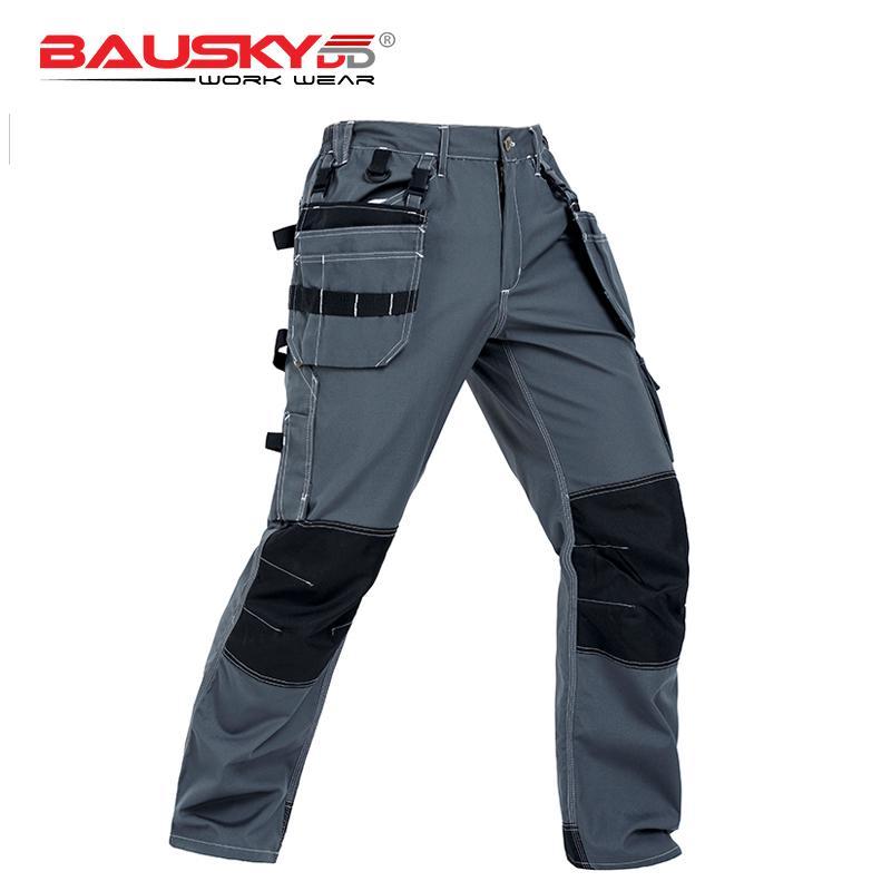 low priced 3f713 b1f4e Cargo Pants Männer Arbeitskleidung Hosen mit Multi Pocket Arbeitskleidung