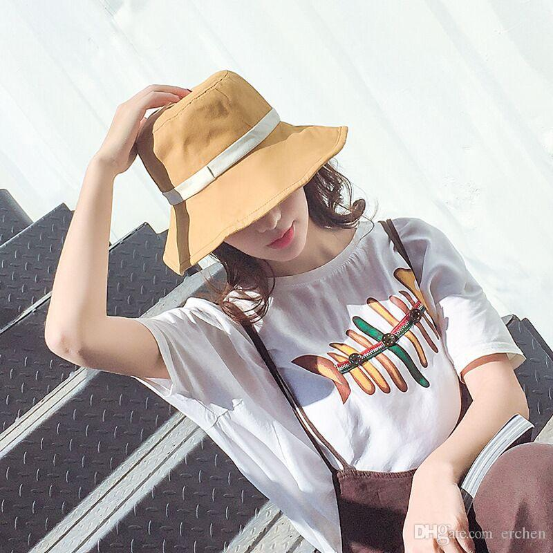 be1b0df1891 Brand New South Korean Version Sunshade Female Beach Hat Handcrafted ...