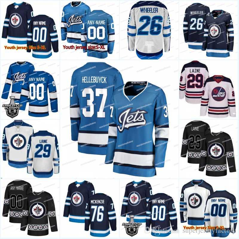 100% authentic c8827 6c015 New Season Winnipeg Jets Jersey 7 Ben Chiarot 5 Dmitry Kulikov 44 Josh  Morrissey 70 Joe Morrow 57 Tyler Myers 83 Sami Niku Hockey Jerseys