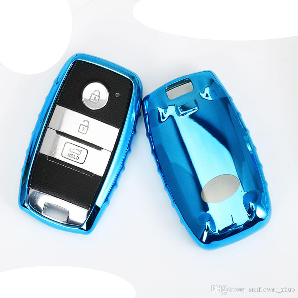 Car Styling Soft Tpu Key Cover Case For Kia Rio Sportage 2016 Ceed Remote Covers Sorento Cerato K2 K3 K4 K5 Smart Shell Fob Programming From