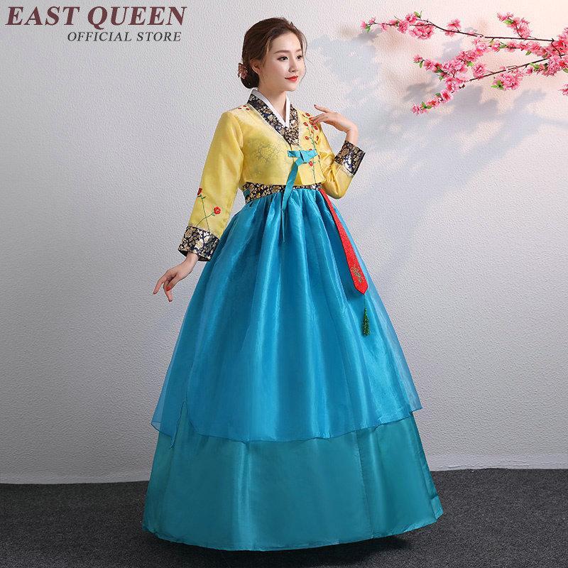 f815102ed Compre Vestido Tradicional Coreano Hanbok Boda Mujeres Ropa Tradicional  Coreana KK2341 A  76.51 Del Smotthwatch