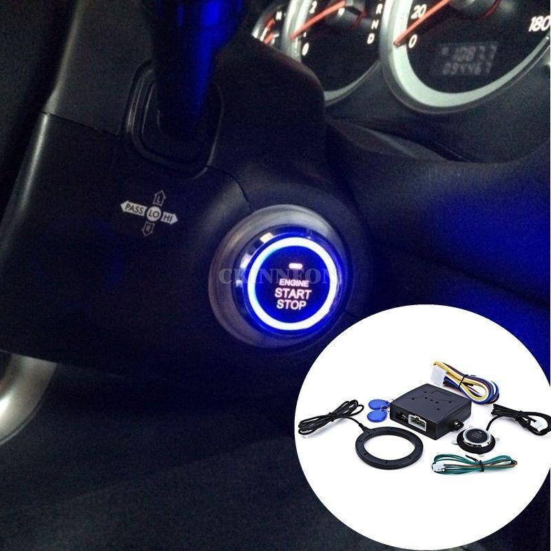 DHL 20Set Car Engine Push Start Button Lock Ignition Starter Keyless Entry  Start Stop Immobilizer (Color: Black)
