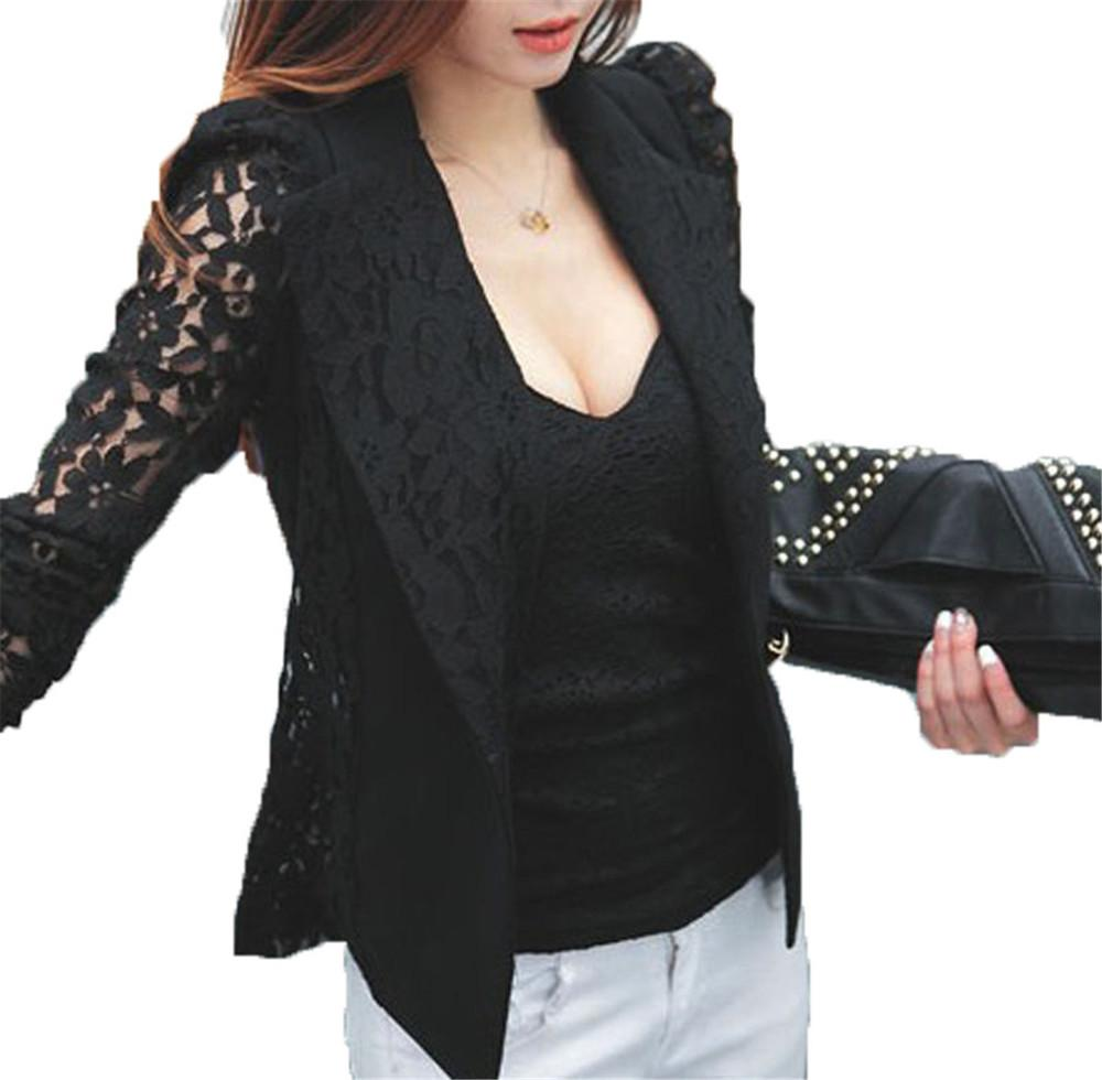 Sexy plus size jackets