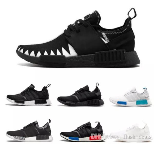 0b654136ffc5c 2018 NMD R1 Oreo Runner Japan Nbhd Primeknit OG Triple Black White Camo  Running Shoes Men Women Nmds Runners Xr1 Sports Trainers Size 36 45 Spikes  Shoes ...