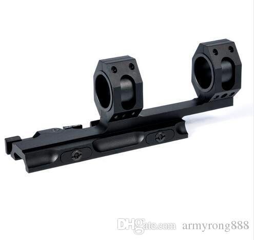 "Tactical AR15 M4 M16 Quick Release Scope Mount Optics QD Rifle Scope Rings 1"" 30mm Diameter Fit 20mm Picatinny rail"