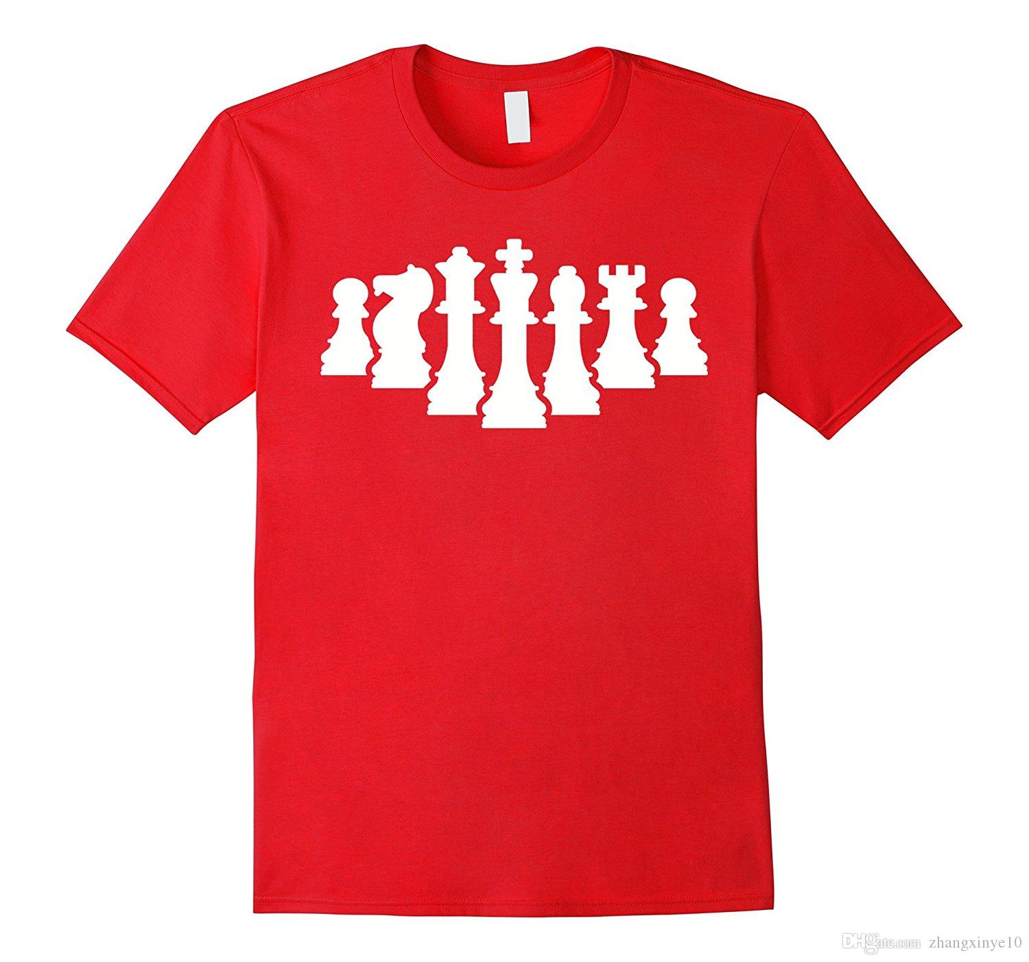 Chess Figures T Shirt Cool Team Shirts Crazy Shirt Designs From