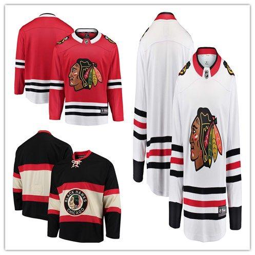 1762b59d9b7 Custom Men s Women Youth Ice Hockey Jerseys Chicago Blackhawks The ...