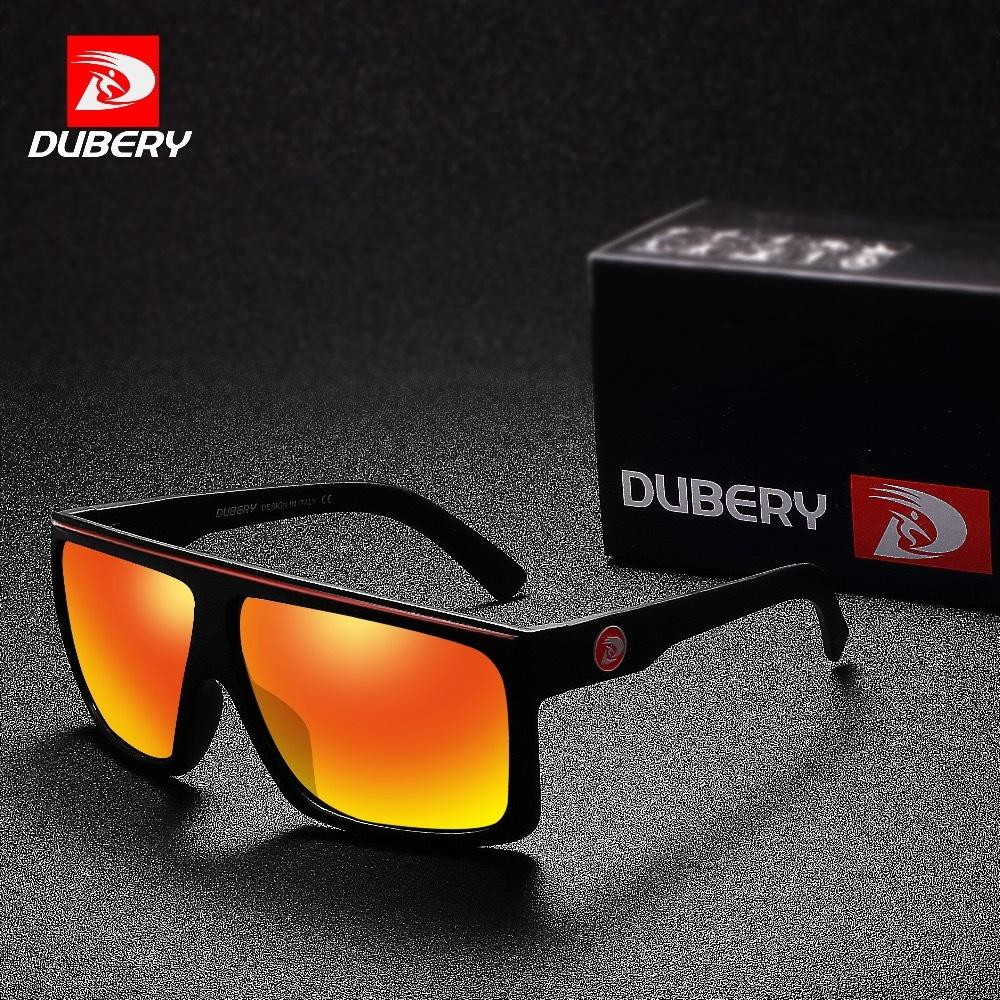 1f290a32bf DUBERY Polarized Sunglasses Men Driving Shades Male Sun Glasses For Men  Retro Square Brand Luxury Mirror Shades Oculos UV400 D18102305 Designer  Sunglasses ...