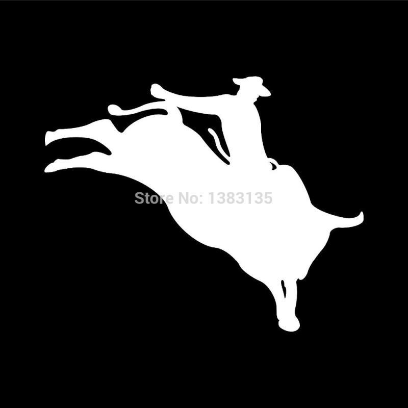 2018 hotmeini wholesale rodeo bull rider vinyl graphic car sticker for truck window door laptop kayak vinyl decal from iyouyou 30 16 dhgate com