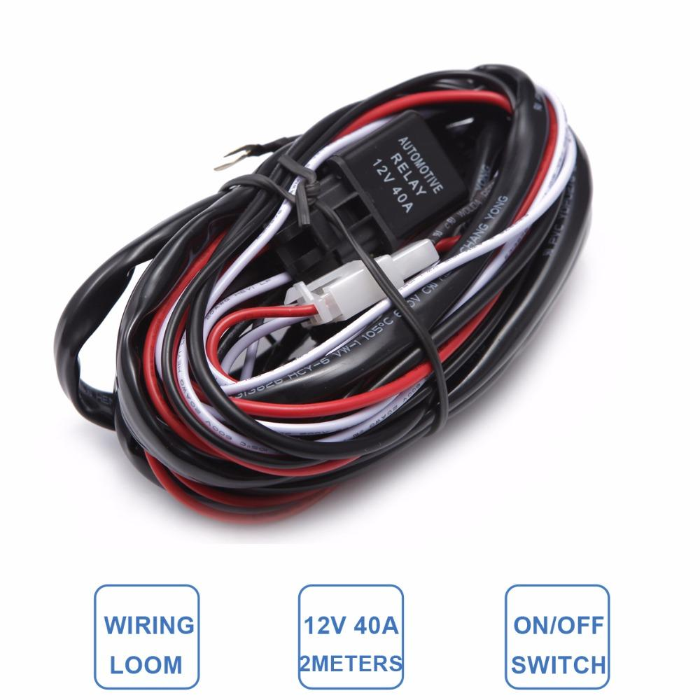 2018 Car Light Wire Harness Loom Kit Offroad Led Worklight Bar. 2018 Car Light Wire Harness Loom Kit Offroad Led Worklight Bar Driving Refit L Extension W2m 25m 3m Cable From Miniputao 3916 Dhgate. Wiring. Hang Wire Harness At Scoala.co