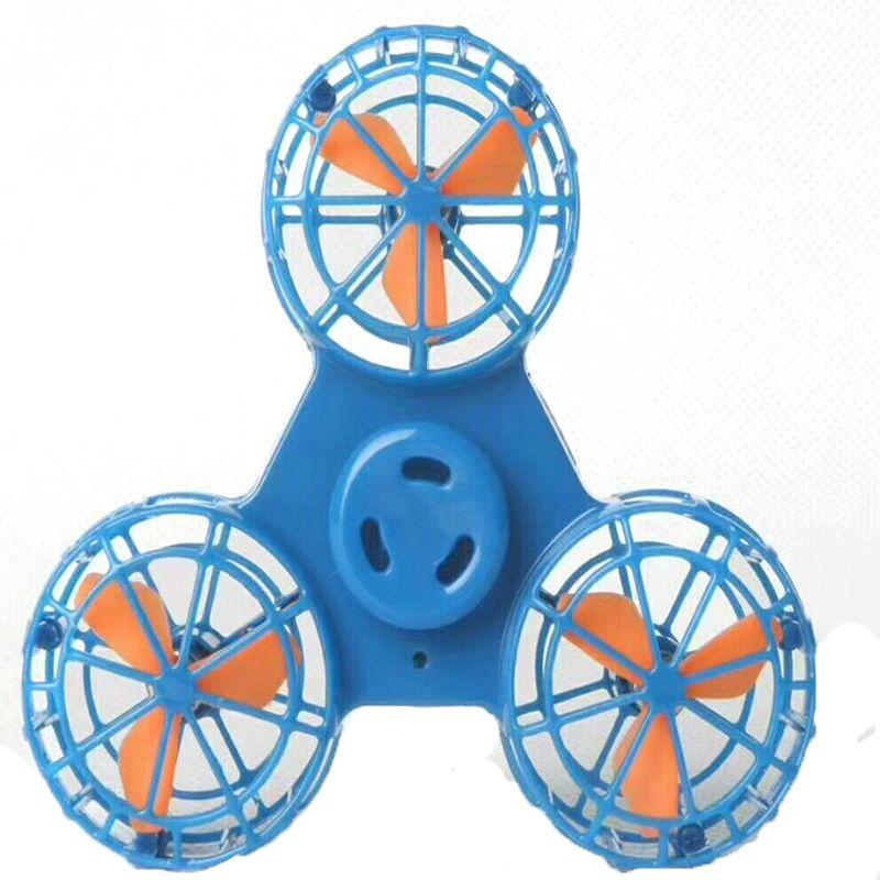 El más nuevo Flying Fidget Spinner Mano Flying Fidget Spinner Flying Spinning Top Juguete Para Autismo Ansiedad Estrés Juguete Gran regalo divertido z189