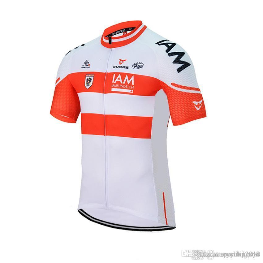 New IAM Cycling Jersey Short Sleeve Bike Shirt Mtb Maillot Ciclismo ... 584fe009f