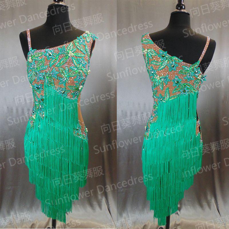 1540120554 Compre Vestido De Baile Latino Rumba Jive Chacha