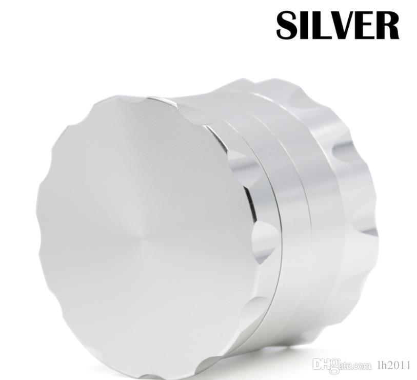 Diámetro 63 MM nuevo cuatro capas de aleación de aluminio de papel chaflanando falda del cordón del cigarrillo triturador de cigarrillos