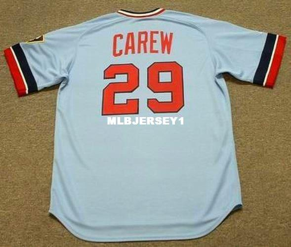 8282ae82afe 2018 Wholesale Custom Rod Carew Minnesota Stitched 1977 Majestic Top Away  Baseball Jersey Retro Mens Jerseys From Mlbjersey1, $21.95 | Dhgate.Com