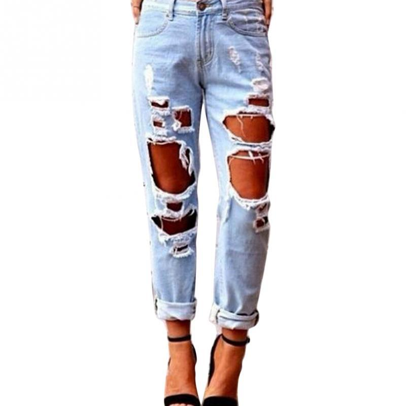 9dc88229895 2019 New Arrival Sexy Women Ripped Distressed Jeans Unique Street ...