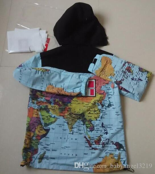 1eb0f763523 Fashion Men Brand Clothing Plus-size Military Map Jacket Reflective ...