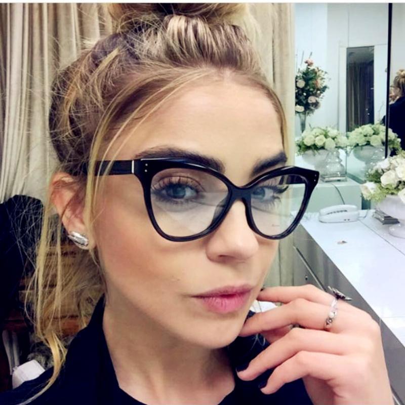 0cfeb2e1ec 2019 Kottdo Fashion Brand Cat Eye Glasses Frame Sexy Women Prescription  Eyeglasses Retro Eyewear Vintage Optical Clear Glasses Oculos From  Fashionable16