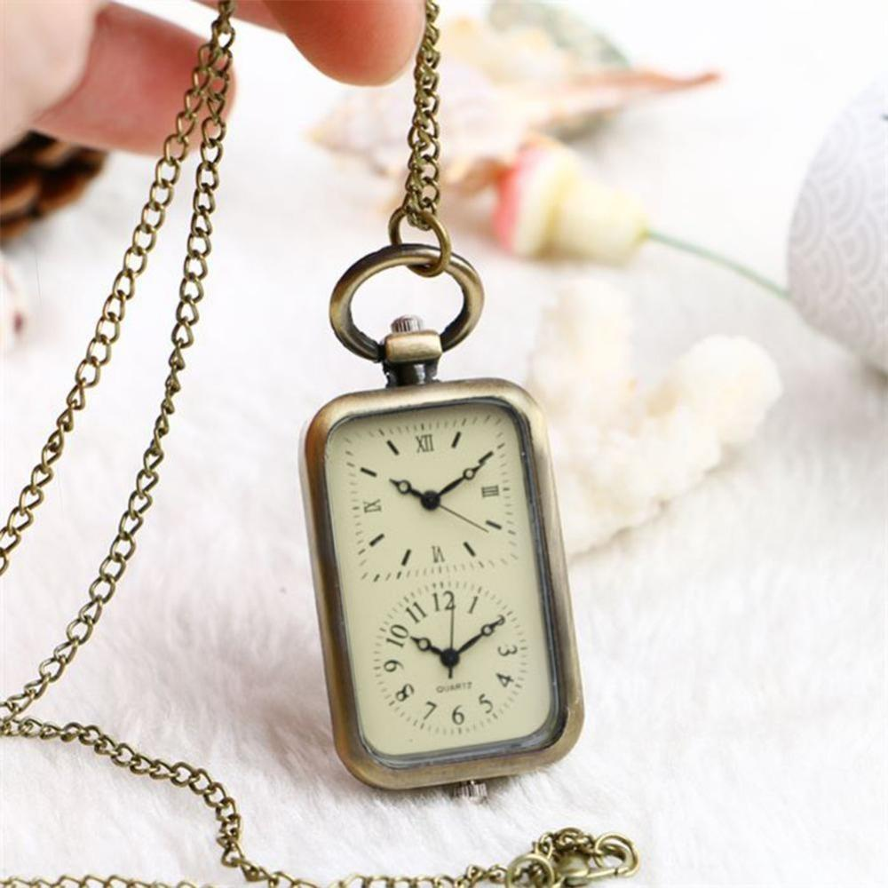 pendant face watch open necklace plated gold quartz image woodford watches