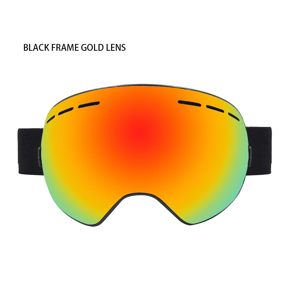 10a9f5099c Ski Goggles Winter Snow Sports Snowboard Goggles with Anti-fog UV ...