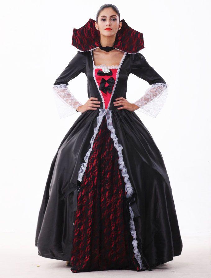 Acquista Femmina Vampire Zombie Costume Halloween Fantasma Sposa Masquerade  Costumi Del Partito Abito Donna Strega Regina Halloween Cosplay A  49.5 Dal  Peay ... 2ec15e3e828e