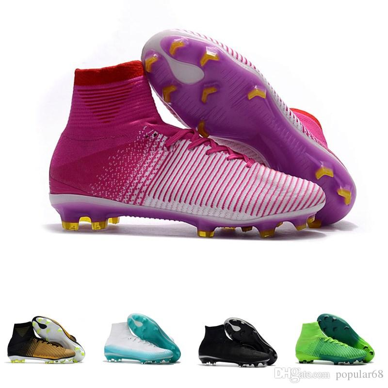 sports shoes eb750 6f1e9 Mens CR7 Mercurial x EA SPORTS Superfly V FG Soccer Shoes Magista Obra 2  Boys Soccer Cleats Women Football Boots Youth Cristiano Ronaldo