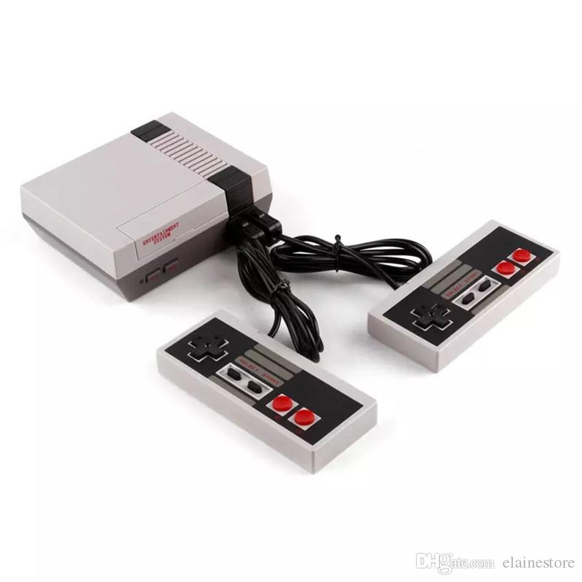 NEW MINI AV OUT TV 게임 콘솔 비디오 핸드 헬드 NES 게임 컨트롤러와 NES 게임 컨트롤러와 소매 팩 상자