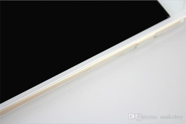 Cep Telefonu TPU Kılıfları iPhone X 8 8 Artı 7 7 Artı ultra-ince 0.5mm Bırak Direnç DHL Ücretsiz Cep Telefonu aksesuarları