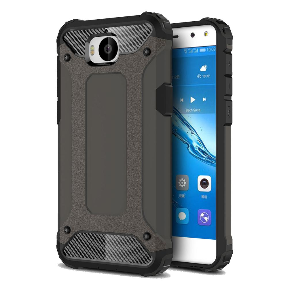 new style a458c 023c5 Case for Huawei Y5 2017 Silicone Armor Coque for Huawei Y5 2017 back Cover  Shockproof Hybird for 2017 Huawei Y5 Smartphone Case