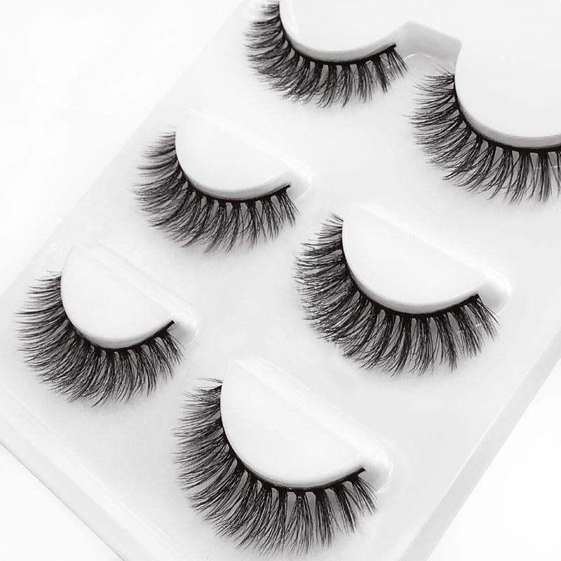 1ab41899081 3D Mink Hair Eyelashes Hand Make Natural Long Eyelash Extension Black Thick  Flash Eyelash Makeup Tool Beauty Accessories Semi Permanent Lashes Car  Lashes ...