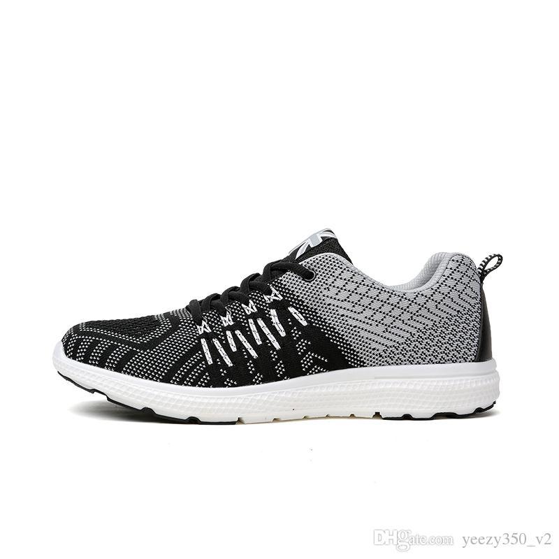 309a0674b6 Compre Novo 2018 Tamanho 36 44 Almofada Casal Sapatos De Amortecimento  Sapatos Casuais Homens Unisex Calçados Para O Sexo Masculino Respirável  Tênis De ...