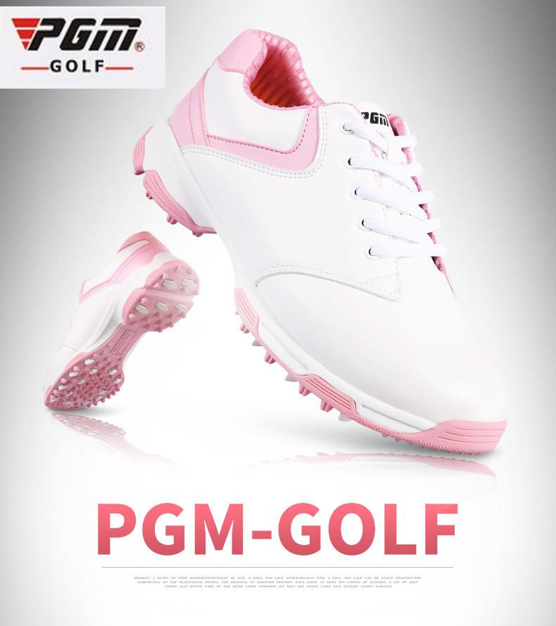 2dee89de8 2019 2017 PGM The Latest Design Ladies Golf Shoes Anti Side Slip Nail Outdoor  Women Ultra Light Waterproof Breathable Golf Sneakers From Prescott, ...