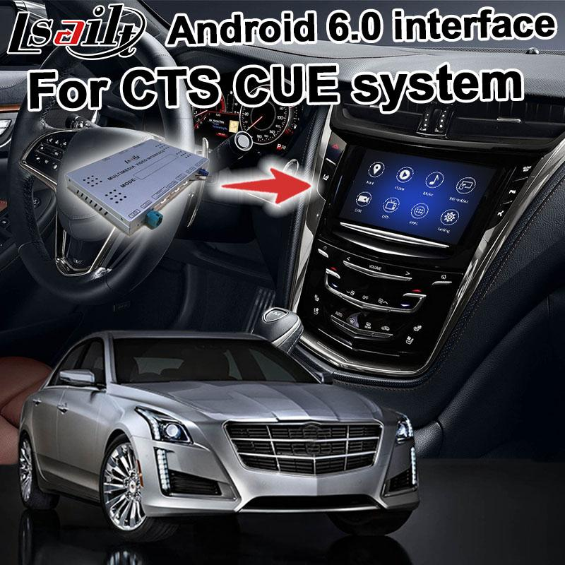Android navigation box for CTS etc Intellilink Mylink CUE system video  interface with Carplay GPS waze yandex