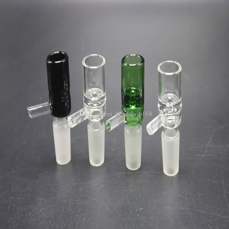 Bongos De Vidro De alta Qualidade Adaptador Portátil Tubulações De Água Taças Multi Cores 14.4mm 18.8mm Bongos de Água Conjunta Masculina
