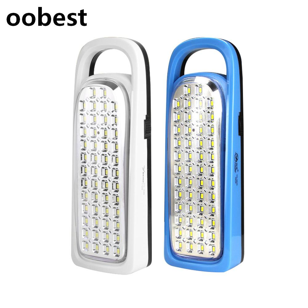 Oobest Outdoor Camping Tent Lamp Lights Portable LED Emergency Light ...
