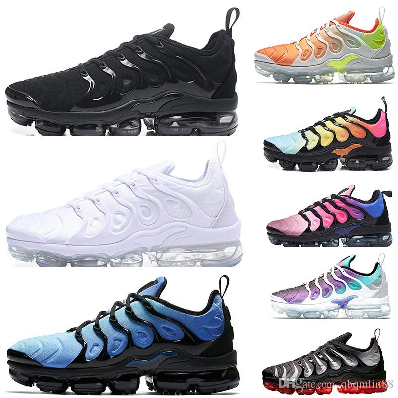 best service a6397 6cbfb 2019 TN Plus Game Royal Orange USA Tangerine Mint Grape Volt Hyper Violet  Trainers Sports Sneaker Mens Women Designer Running Shoese Ladies Running  Shoes ...