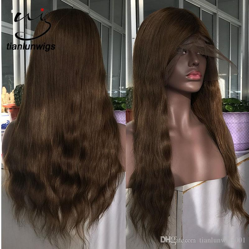 Natural Wavy Style Remy Human Hair  Part Anywhere Full Lace Wig 150%  Density Full Cap Toupee For Women Buy Full Lace Wigs Online Lace Wig With  Baby Hair ... 3fced65e4