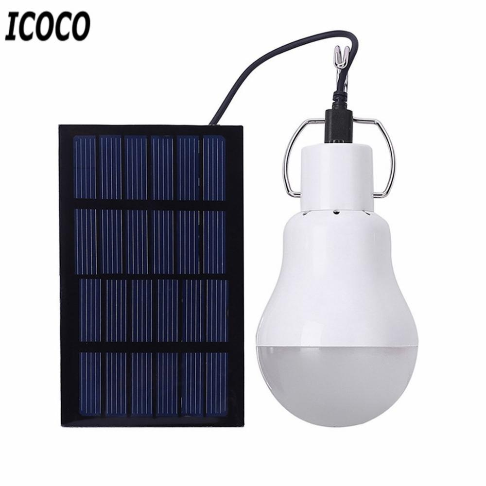 Online cheap icoco portable solar powered led lamp light with high online cheap icoco portable solar powered led lamp light with high temperature and shatter resistance for housing outdoor activity emergency by amosty arubaitofo Image collections