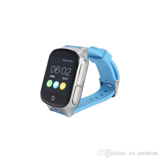 A19 3G GPS Smart Watch Touch Screen and Camera Compatible with Android and iOS phone Anti-Lost GPS Tracker for Kids/Elderly