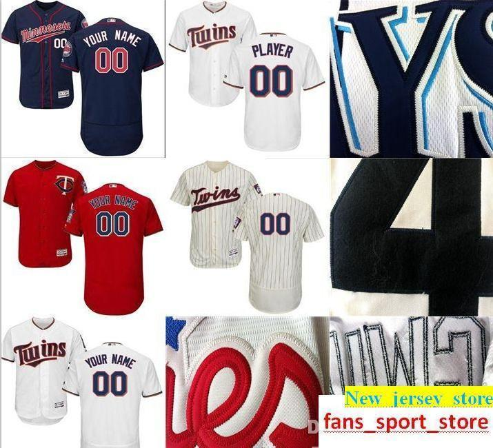 ddb38a1641c 2019 2019 CUSTOM Ma Twins Mens Women Youth Customized Majestic 100%  Stitched Baseball Jerseys Personal Name Person Number SIZE S XXXL From  New_jersey_store, ...