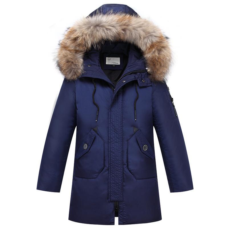504a9b6c8 2018 Teenage Parka Big Boy Boys Winter Warm Coat Jacket For Boy ...